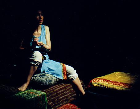 Quelques photos du spectacle le visage caché de la femme afghane